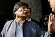 Fugitive ex-President of Bolivia accused of rape and human trafficking